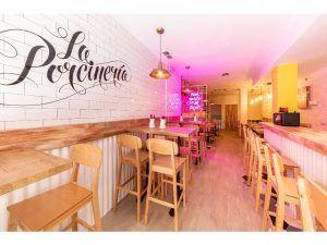restaurante la porcinería madrid local opera