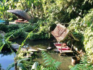 VIAJAR BALI INDONESIA bambu indah