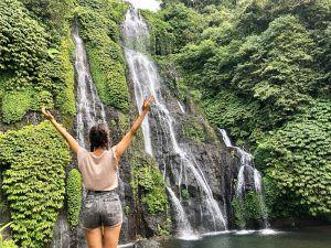 VIAJAR BALI INDONESIA BANYUMALA twin waterfalls