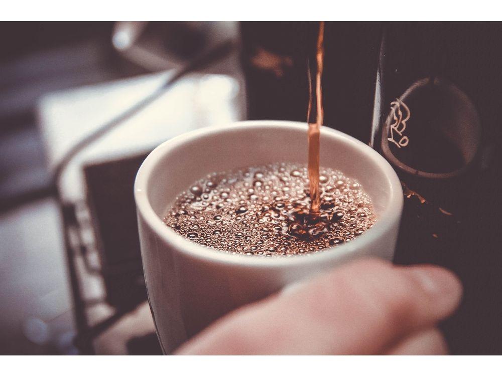 cafetera automática café