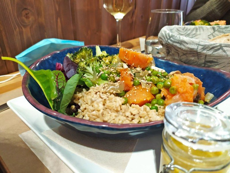 Espacio organico bol restaurantes saludables Madrid