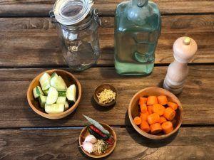 ingredientes verduras fermentadas