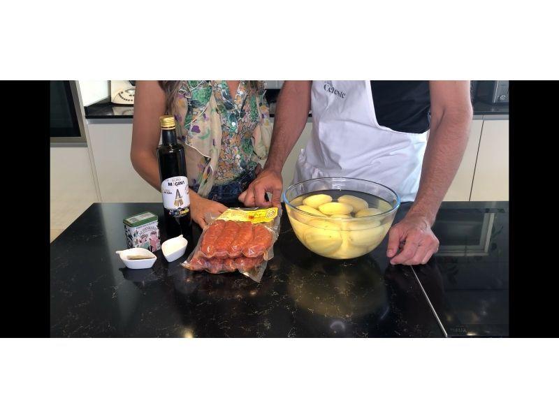 Ingredientes Chorizo con Cachelos