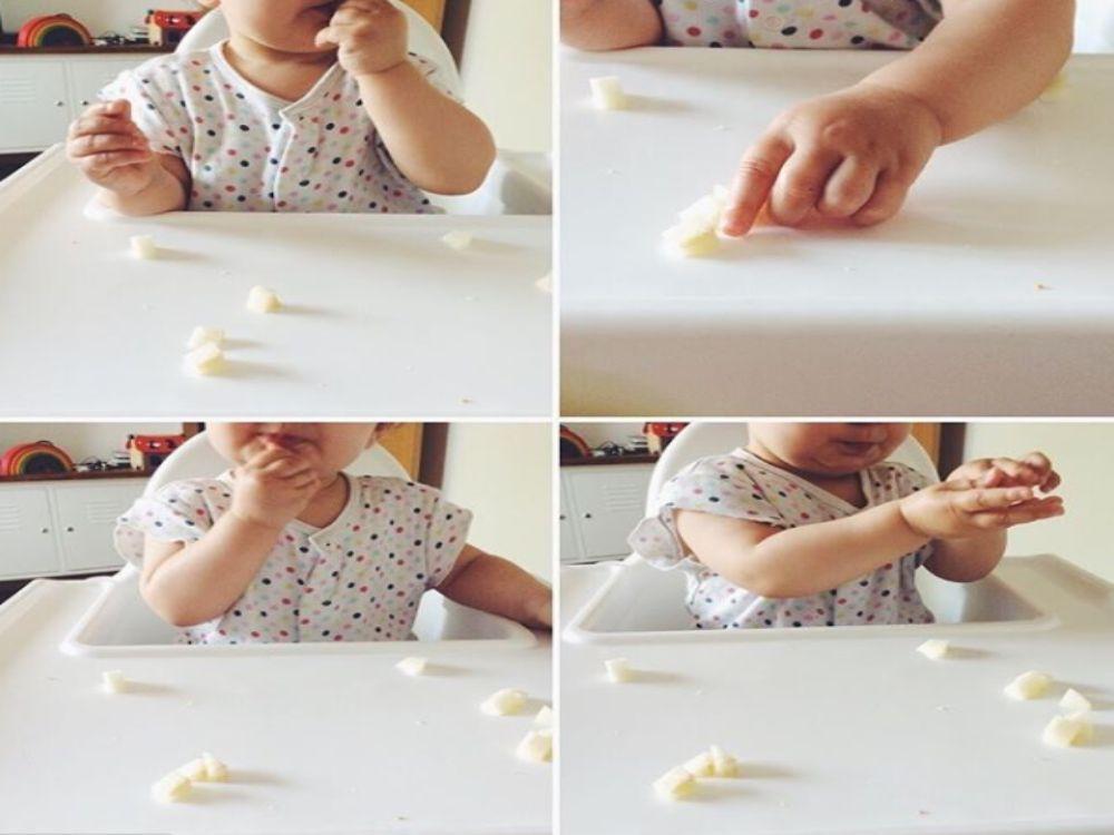 SARA TRAVER BABY-LED WEANING PINZA