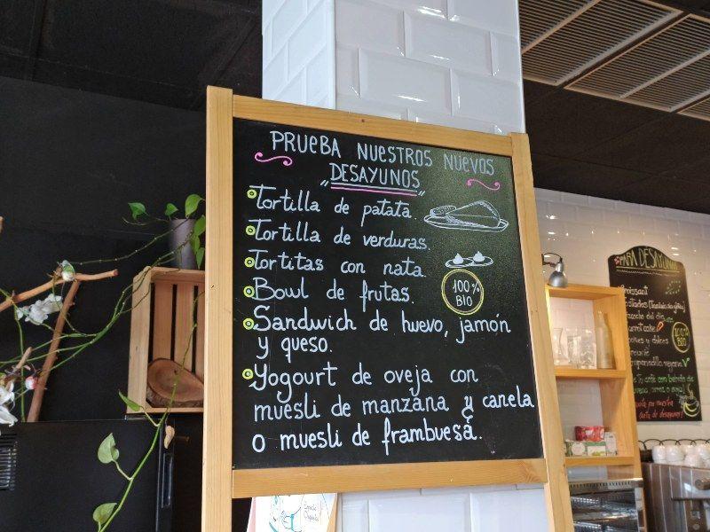 desayuno espacio organico restaurantes saludables Madrid