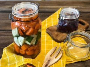 salmuera verduras fermentadas