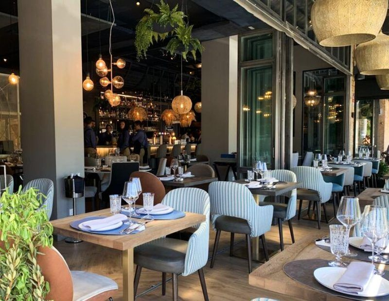 restaurante pedregú Madrid terraza