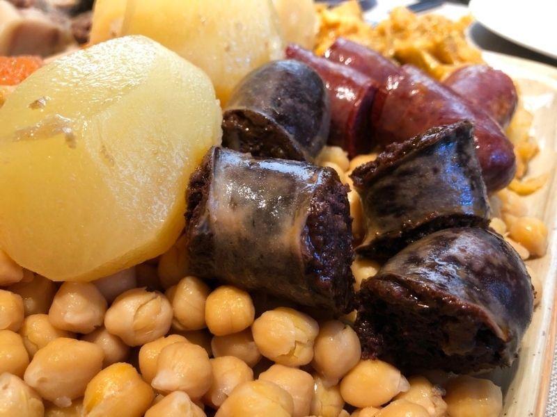 el mejor cocido madrileño la txitxarrería