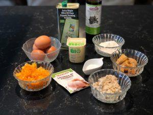 BANANA BREAD ingredientes