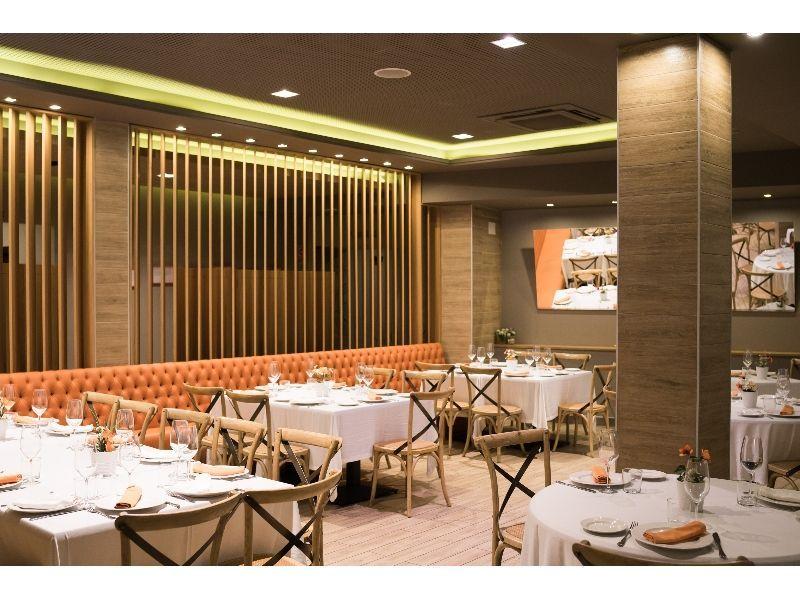 salón del restaurante círculo marisquería madrid