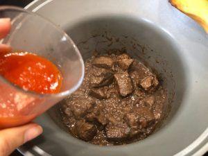 estofado carne vino tinto tomate cidacos