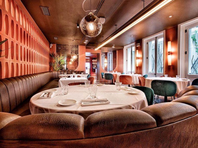 NOI restaurante Madrid sala roja
