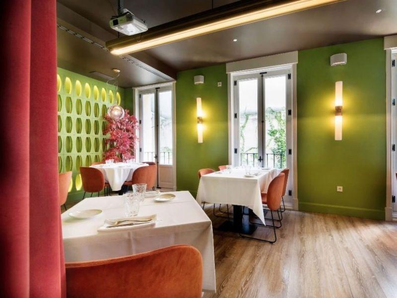 NOI restaurante Madrid sala verde