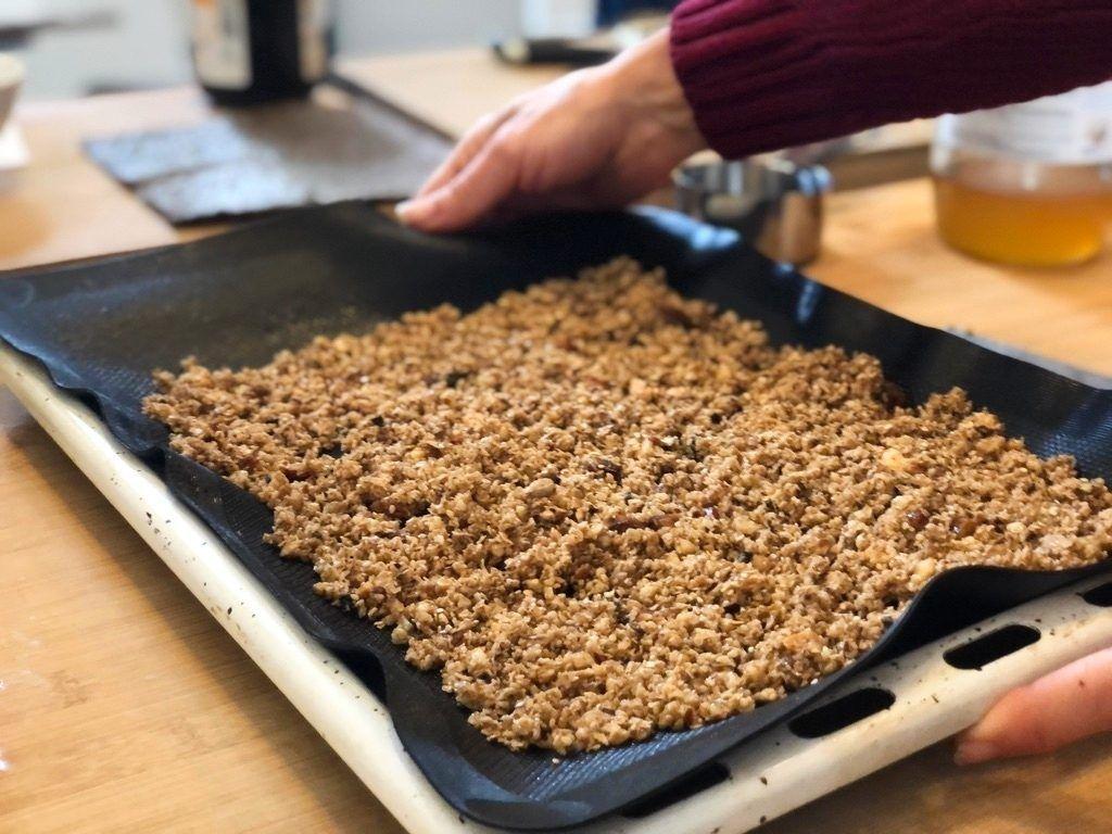 dieta macrobiótica granola