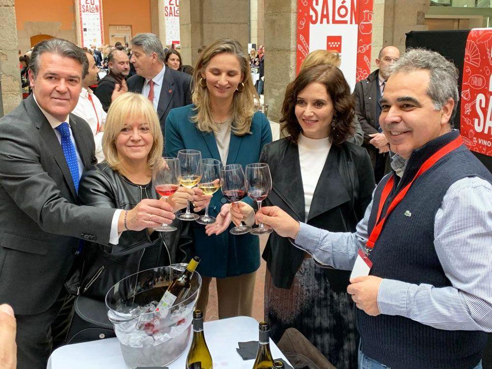 XX Salon de los Vinos de Madrid Isabel Díaz Ayuso