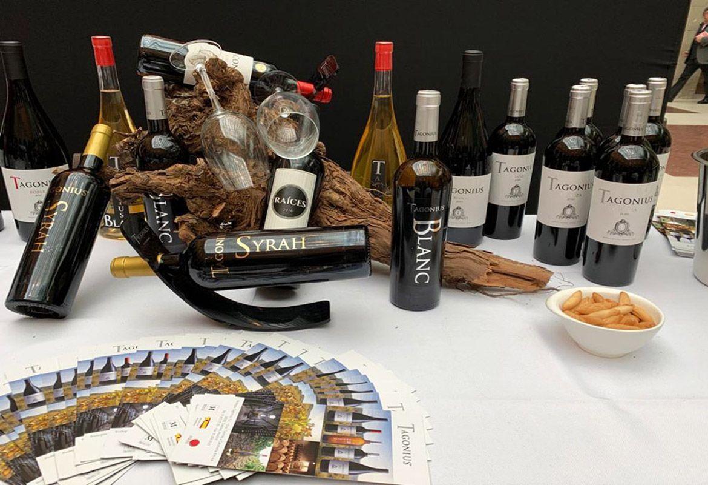XX Salon de los Vinos de Madrid TAGONIUS