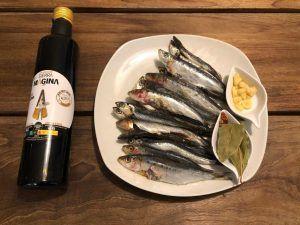 sardinas en aove