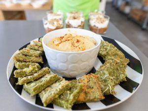 pan de brócoli snacks saludables