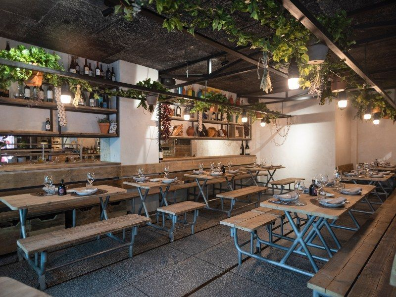 salón restaurante caraba madrid