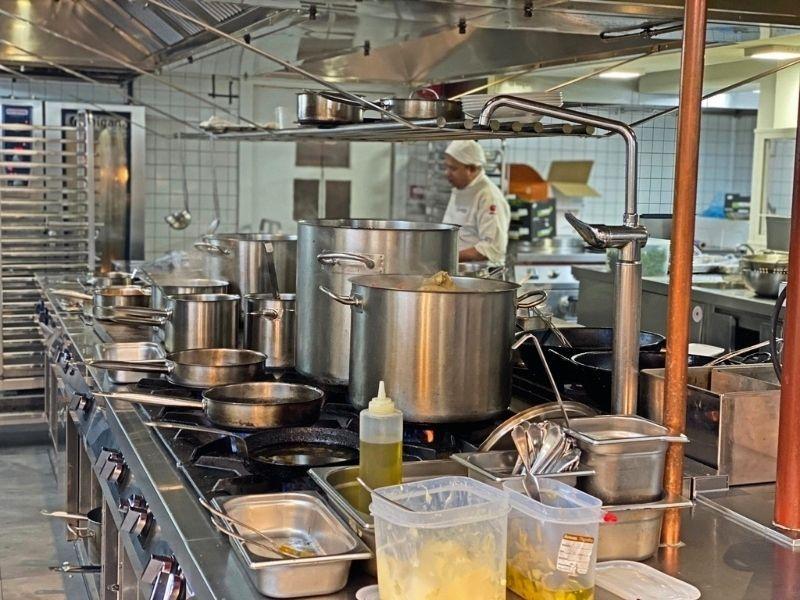 cocina carbón negro en Madrid