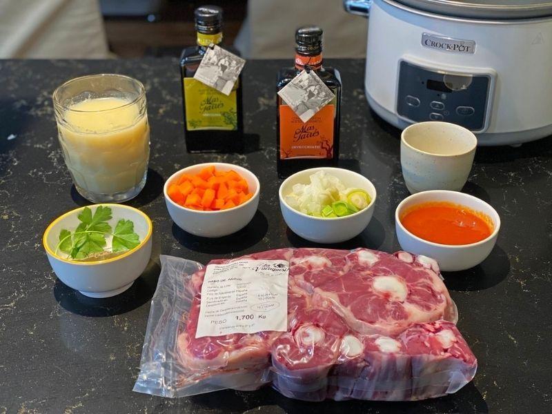 rabo de toro ingredientes