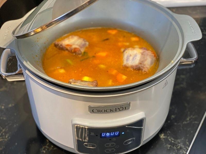 rabo de toro elaboración crock pot