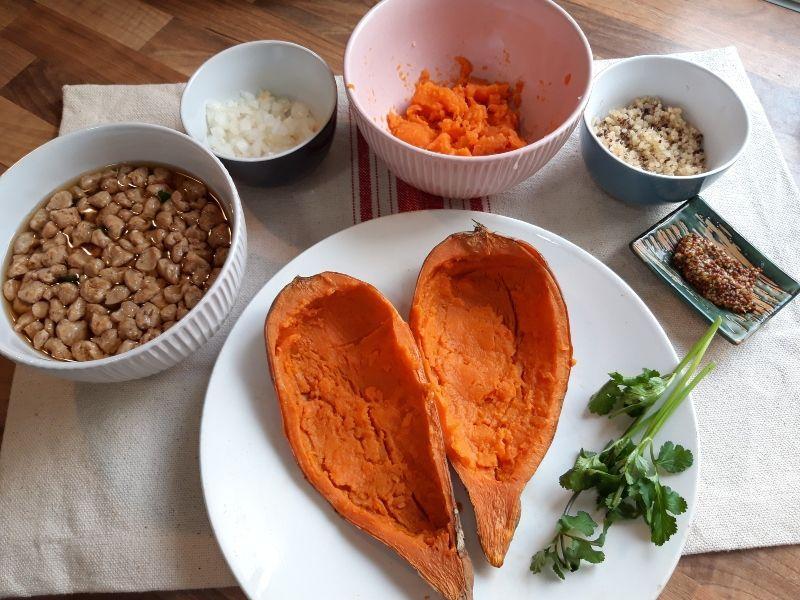 batata rellena elaboración