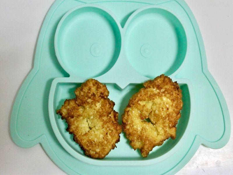 nuggets de coliflor harina-de-garbanzos