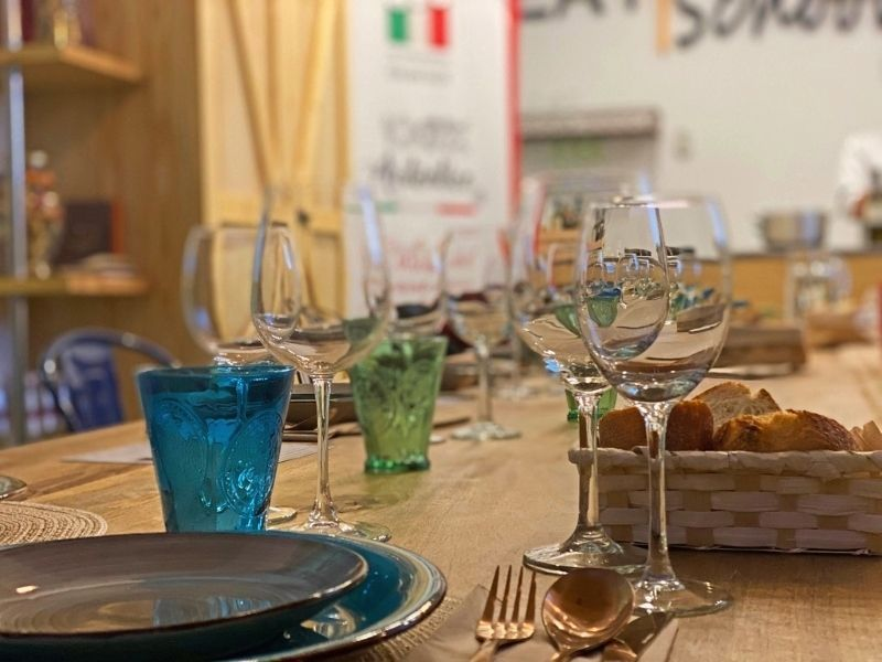 comida italiana cámara de comercio