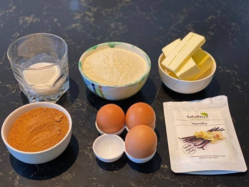 ingredientes bizcocho en panificadora