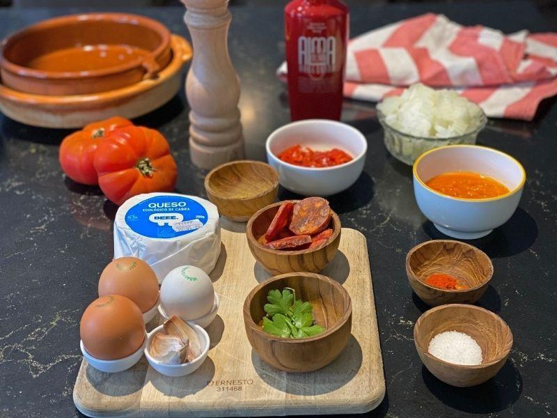 ingredientes shakshuka
