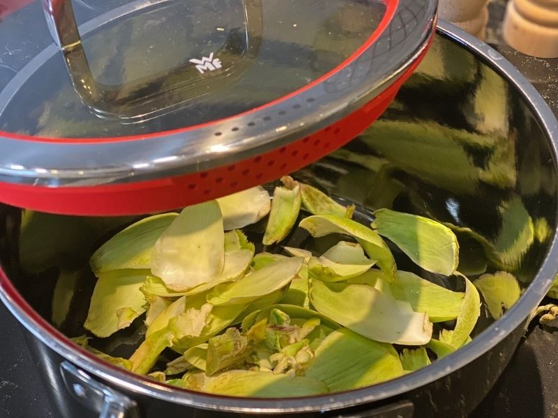 alcachofas al horno trucos