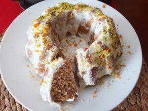 bundt cake porción