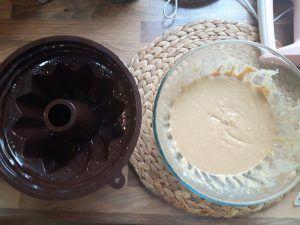 bundt cake preparación