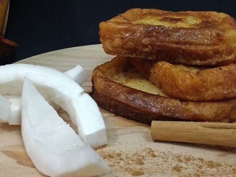 recetas torrijas coco