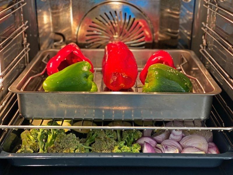 ingredientes verduras al horno