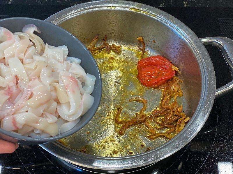 guiso de pescado ingredientes