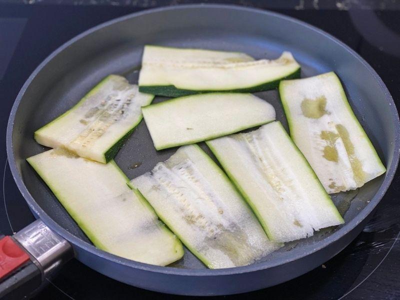 ingredientes calabacines rellenos