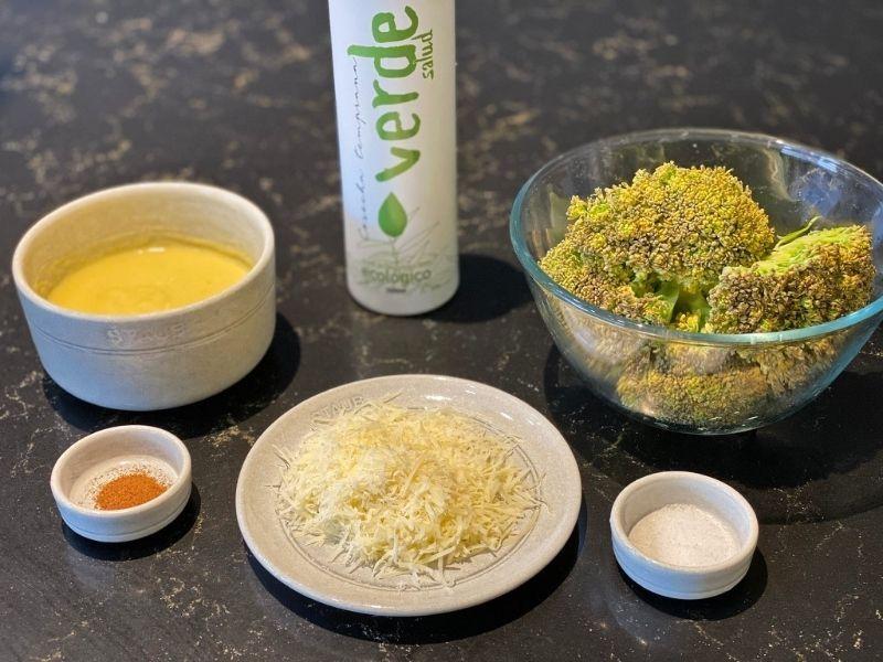 ingredientes coliflor con bechamel
