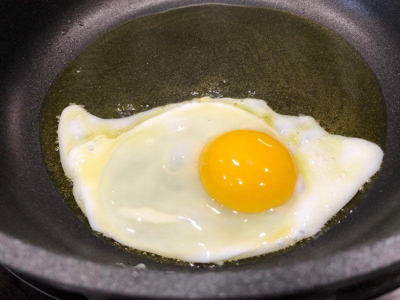 pisto manchego con huevo