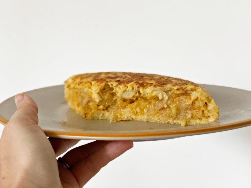 pincho receta tortilla de patatas