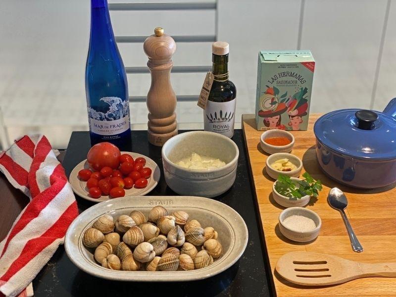 recetas berberechos ingredientes