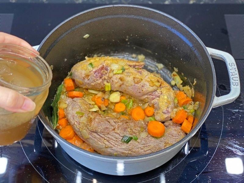 solomillo de cerdo al horno salsa