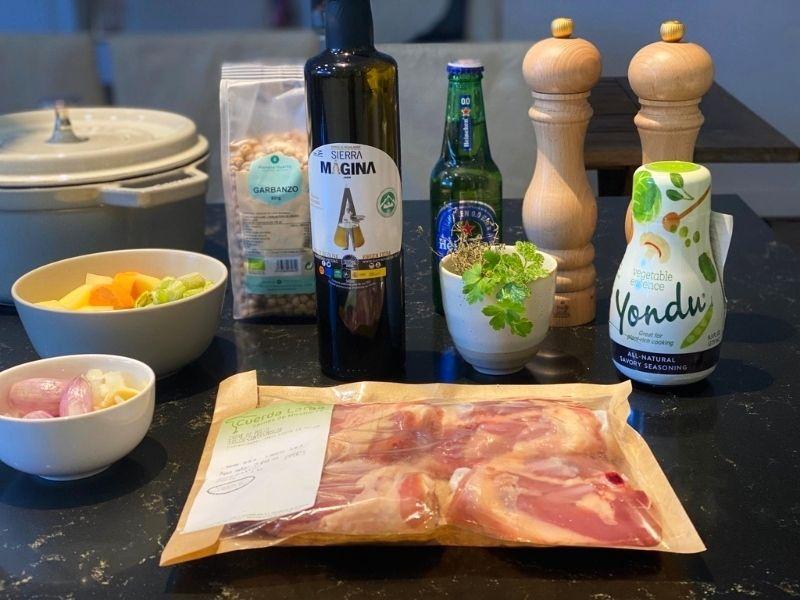 pollo a la cerveza al horno ingredientes