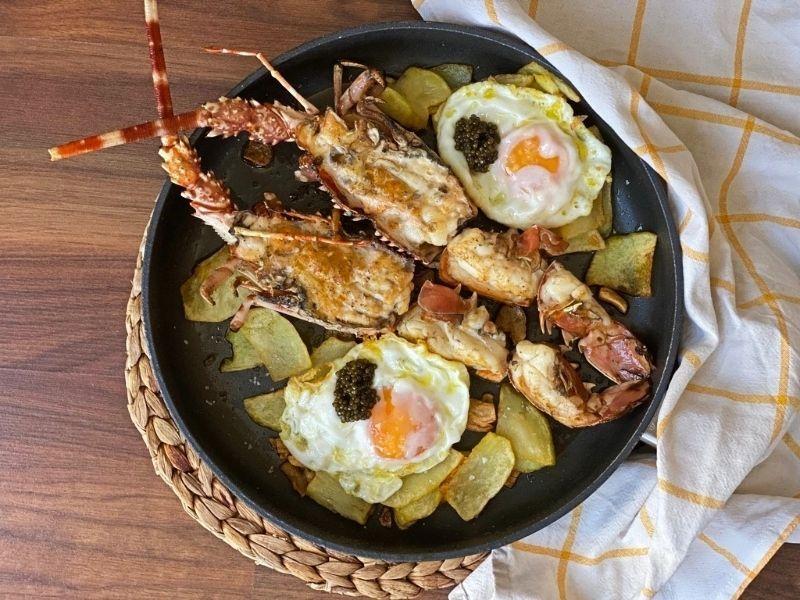 receta de langosta