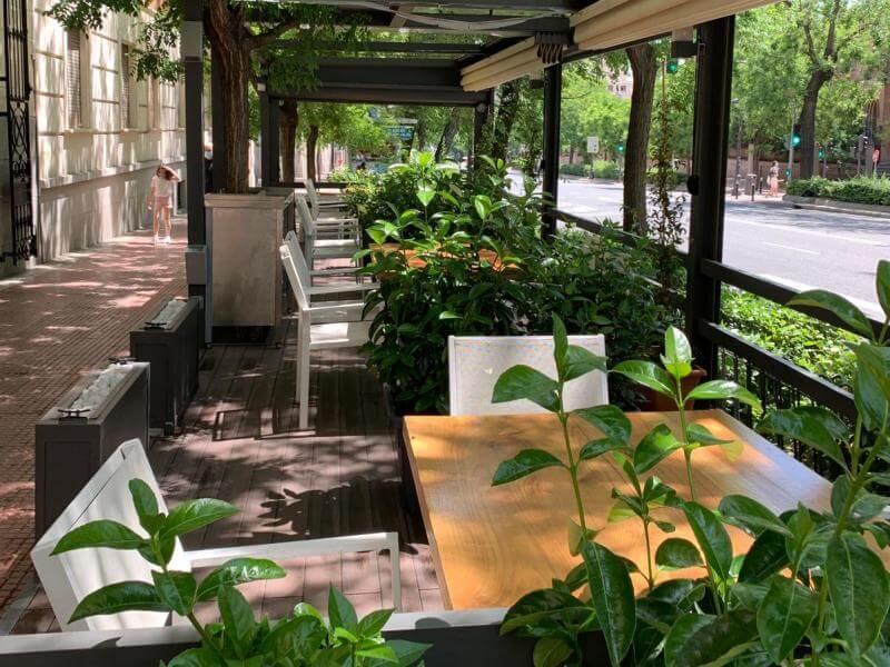 LUA Terrazas en Madrid