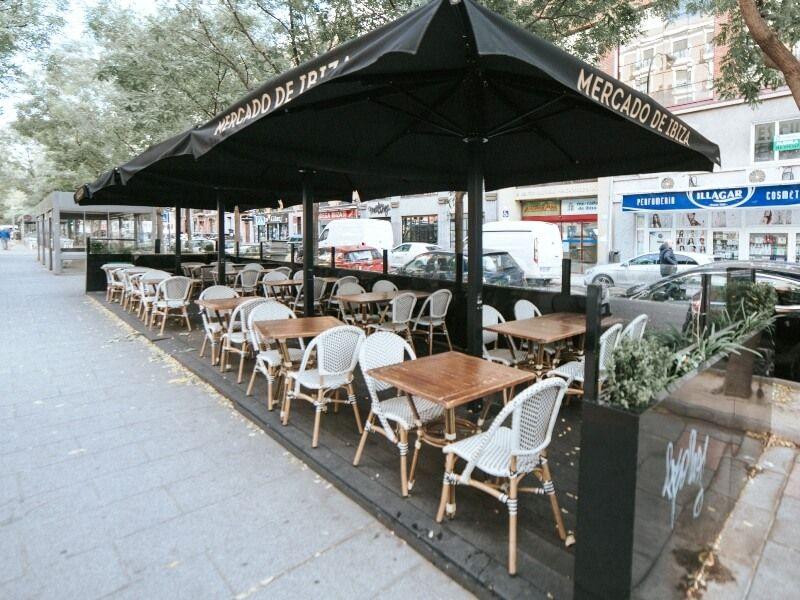 MERCADO DE IBIZA Terrazas en Madrid