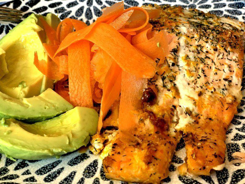 Receta de salmón a la naranja