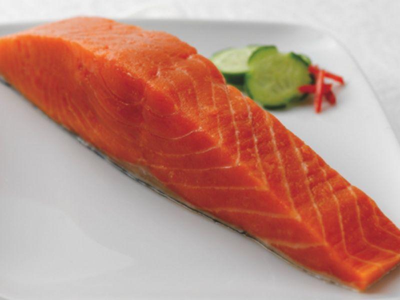 Receta salmón salvaje a la naranja