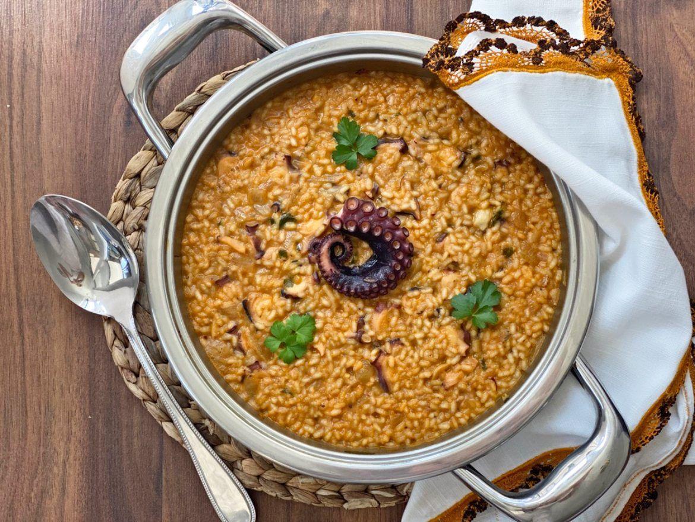 arroz con pulpo receta